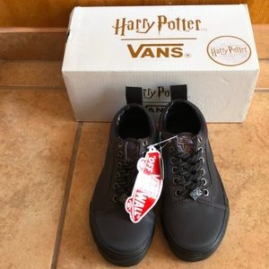 NWT Vans x Harry Potter black sneakers